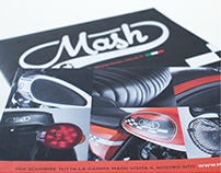 Mash 2016 Motorcycle Range Brochure / Poster