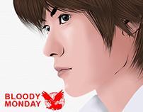 Fujimaru Takagi (FALCON) of BLOODY MONDAY