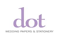 Dot Wedding Papers & Stationery Branding