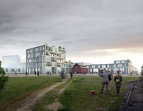 Aarhus Architecture School Competition for OYO
