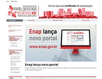 Novo Portal da Enap - Site do Governo