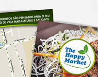 The Happy Market - Cartão de Visita e Flyer