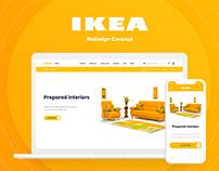 IKEA - UI/UX Redesign Concept