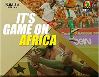 Naija Gaming AFCON Campaign