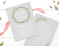 Botanical Invites