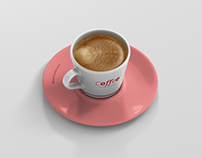 Coffee Cup Mockup - Cone Cup