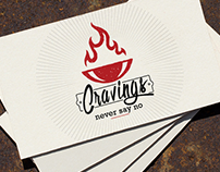 Cravings - Never Say No | Brand Identity