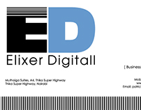 Logo & Business cards Elixer Digitall