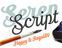 Seren Script by TypeFaith Fonts