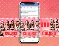 Social Media - The Colors' Festival - Evento 2019