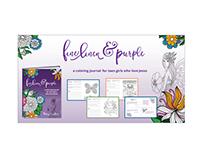 Fine Linen and Purple Ad Set
