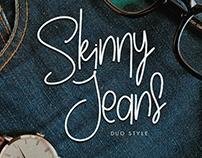 Skinny Jeans - Duo Handwritten Font