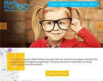 WebSite for Math School