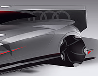 Automotive sketches | 2017