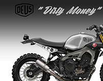 "DEUS EX MACHINA XSR 900  ""DIRTY MONEY"""