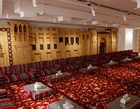 Emirates Majlis Interior