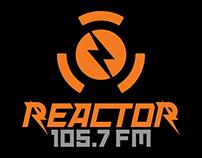Logo Reactor 105.7 FM