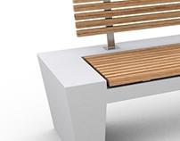 Betonbank STAC | Concrete Bench STAC