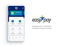 EasyPay - dashboard of payment system