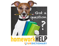 Homework Help Banner Ad for YourDictionary.com