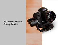 E-Commerce Photo Editing Services