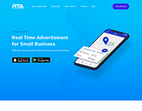 Landing Page - Real Time Advertisement