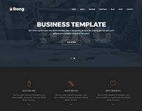 Rong - MultiPurpose Creative WordPress Theme