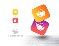 SmartBazaar Logo Concept