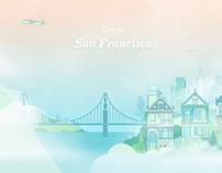 San Francisco Visual Illustrations