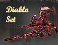 Diablo Set Weapons