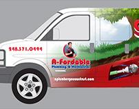 Van Wrap - A-fordable Plumbing