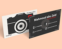 BUSINESS CARD FOR DEPO PHOTOGRAPHY