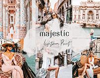 Majestic Lightroom Preset