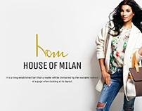 House of Milan  Online store logo
