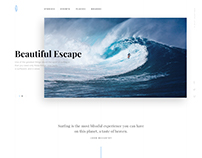 "Web design ""First Surfing Magazine"""