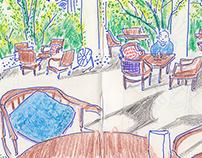 Saigon cà-phê & restaurantsketchescollective