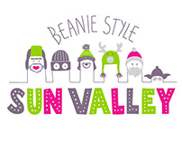 Illustration & trims for SUN VALLEY junfor ski brand