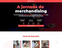Landing Page | A jornada do Merchandising