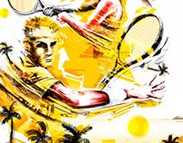 Alberto De Tenis Illustrations