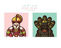 Desi God Iconography