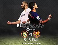 Barcelona vs Real Madrid Project.