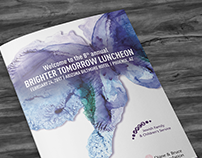 Brighter Tomorrow Luncheon Branding