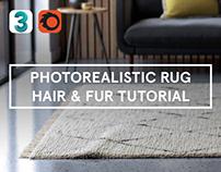 Create A Realistic Wool Rug Using Hair & Fur