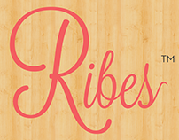 Ribes Typographical Logo Design