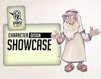 XCGI Character Design Showcase