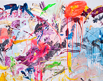 Objects of Art - Abstract Neo Expressionism.