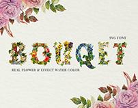 Flower Bouquet SVG Font