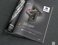 Magazine ad for Simola Vitrified