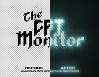 The CRT Monitor - One ClickbyKrister Lima