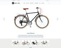 Sitio Web Responsive Bike or Bike